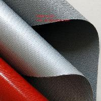 vải chống cháy silicone