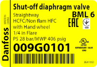 van chặn-shut off diaphragm valve